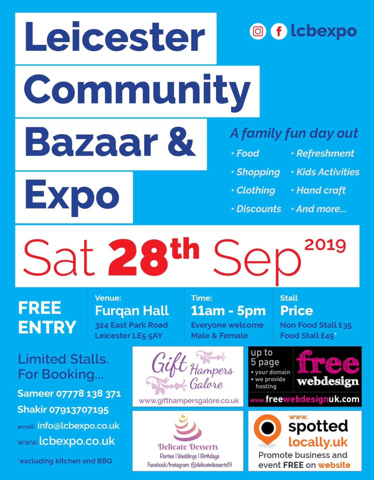 Leicester Community Bazaar and Expo